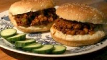 Vegan sloppy joe's