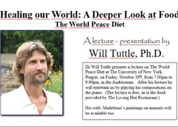 Will Tuttle: The World Peace Diet - lecture (Praha)